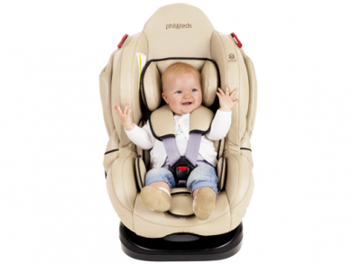 The Evolution car seat by Phil and Teds