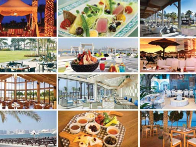 Eat by the beach in Dubai