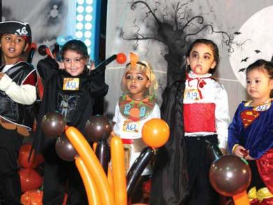 Halloween parties for kids in Dubai 2014