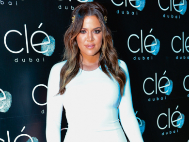 Khloe Kardashian in Dubai interview