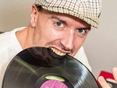 DJ Trey French in Dubai