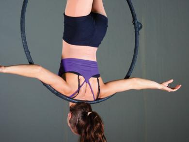 Learn aerial hoop dancing in Dubai