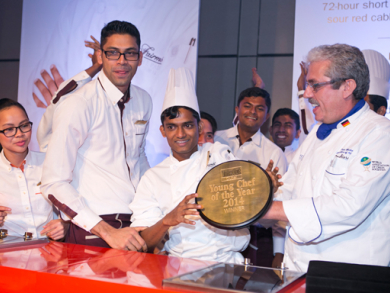 Suraj Dhupad named Dubai's best young chef
