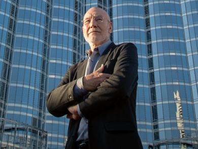 Sir Patrick Stewart interview