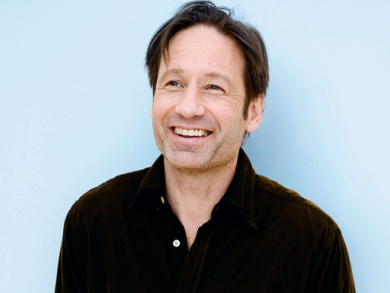David Duchovny on his Holy Cow book