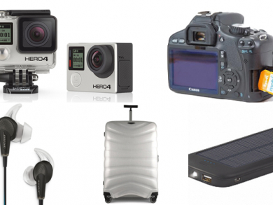 Five must have travel gadgets
