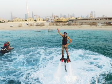Flyboarding in Dubai with SeaRide Dubai