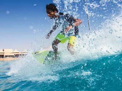 Interview with UAE surfer Champion