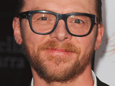 5 questions for Simon Pegg