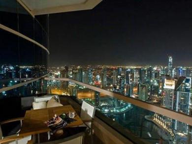 Dubai's best view hotel rooms