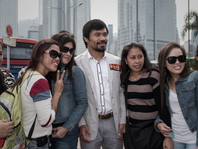 Manny Pacquiao to meet fans in Mall Of The Emirates