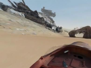 Take a tour of the Star Wars Abu Dhabi set