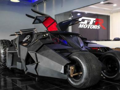 VIDEO: Batmobile on Dubai's Sheikh Zayed Road
