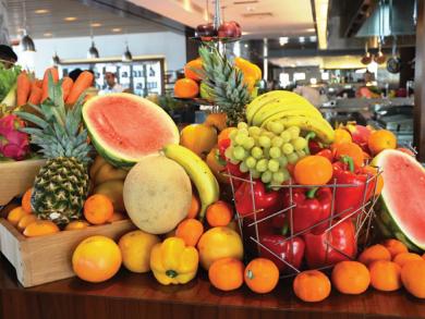 Kitchen 6 brunch at JW Marriott Marquis review