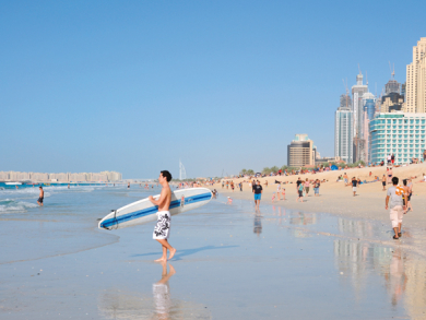 Best places to surf in UAE