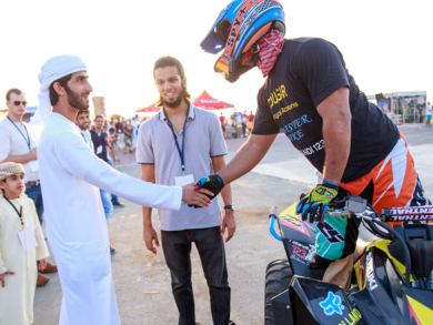Dubai Air Games and Middle East Extreme Sports team up