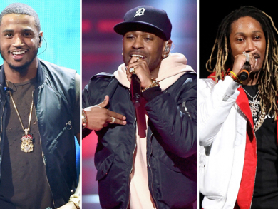 Big Sean, Future and Trey Songz's F1 after-parties