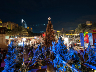 Christmas markets in Dubai