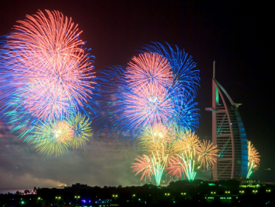 New Year's Eve parties in Dubai