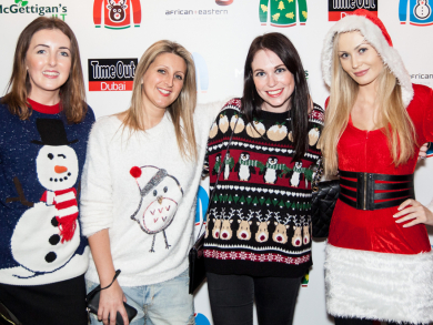 McGettigan's Time Out Dubai Christmas Jumper Party – pictures