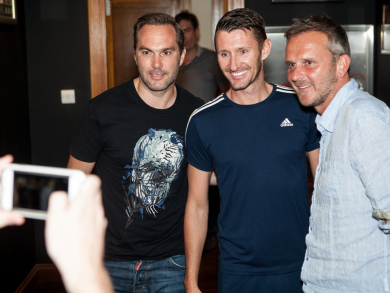 UEFA Euro 2016 launch party at McGettigan's DWTC – pictures