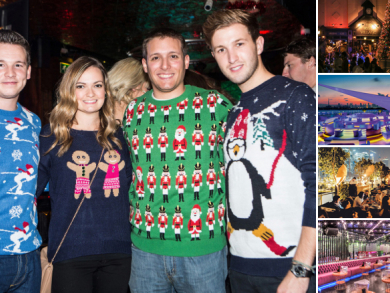 Christmas parties in Dubai