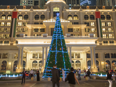 The St. Regis Dubai: Christmas tree lighting – pictures