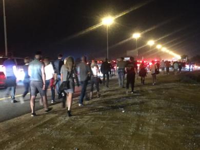 Chaos at Guns N' Roses Dubai show