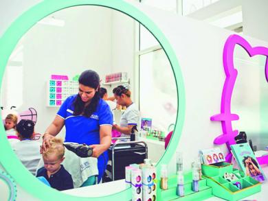 Family hairdressers in Dubai