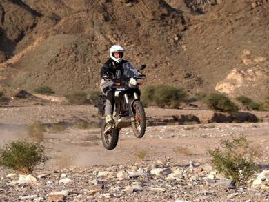 Go off-road in Oman