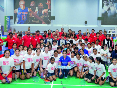 Badminton in Dubai