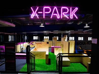X-perience X-park, Bounce's new parkour assault course