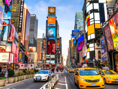 Experience the American dream in New York