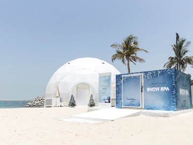 Dubai Ladies Club launches ice beach in time for summer