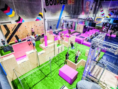 Can you conquer the epic X-Park at BOUNCE?