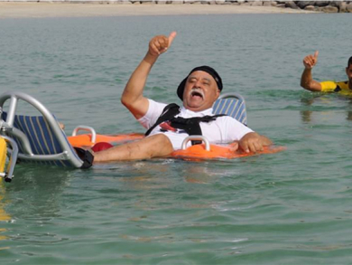 Dubai Municipality launches water wheelchairs