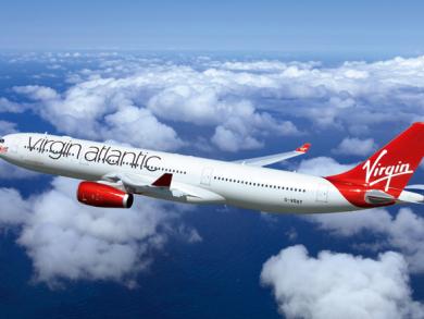 Win flights to London with Virgin Atlantic