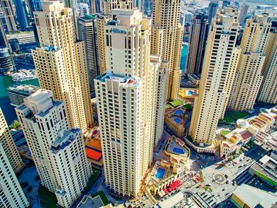 Charity tower race at Hilton Dubai The Walk