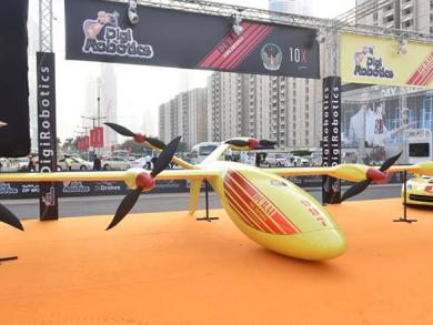Dubai launches fire-fighting drones