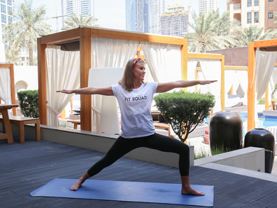 Bargain yoga, brunch and pool daycation at Vida Downtown