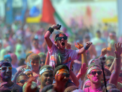Last chance to register for The Color Run 2017