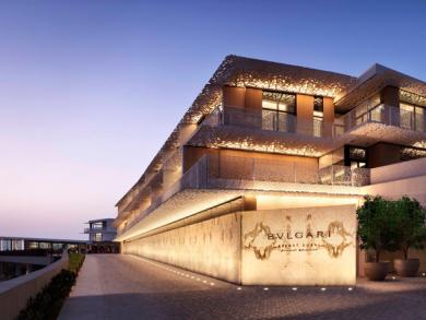 Luxury Bulgari resort opens in Dubai