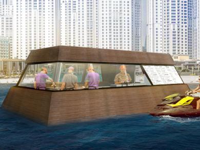 World's first floating kitchen set to take to Dubai's shores