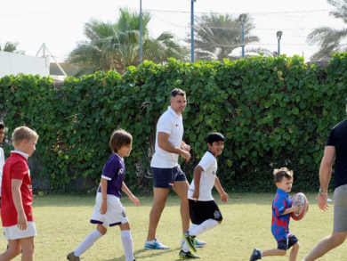 Play free rugby with Mike Phillips this weekend
