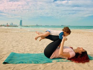 Dubai's biggest yoga event is returning to Kite Beach