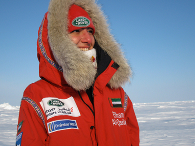 First UAE national to reach the North Pole is giving a talk in Dubai