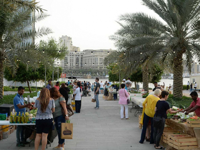 Organic Souk moved to new time