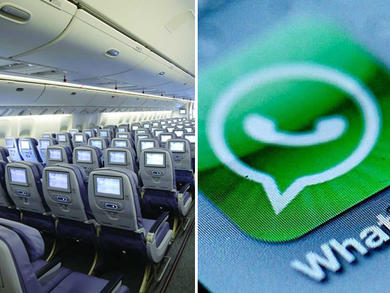 Saudia Airlines reveals free in-flight WhatsApp service