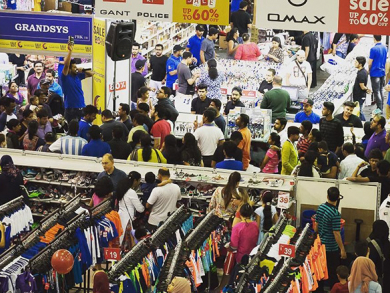 Massive 17-day mega sale kicks off in Sharjah
