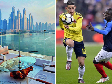 Watch the World Cup from The Penthouse's pool